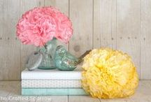 Spring Lovelies / Celebrate new beginnings with Spring inspired decor, St Patricks Day decorations, and all sorts of fun Easter ideas. Includes Easter crafts AND Easter decorations so you can celebrate this bright and cheery Springtime Holiday with style!