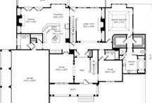 Floor Plans / From main house to guest house, spacious to practical. You're sure to find inspiration and ideas from these floor plans! / by Remodelaholic