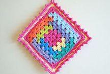 [ grannys crush ] / crochet granny squares