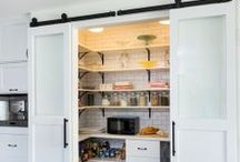 Pantry / Smart Kitchen Storage Ideas for your Pantry