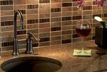 Gorgeous Kitchen / From decor to ways to store you wine, here are some great ideas for your kitchen.
