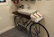 Creative Decor / Live outside the box and decorate creatively in your home.