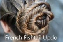 Hair - Styles and Braids / Cool hairstyles and braids.