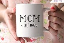 All About Mom / Let mom know how much she's loved with this sweet collection of Mothers Day gifts and Mothers day crafts....some of them are easy enough for kids to make! You'll also find simple brunch recipes, delectable treats, and pretty tablescapes to help celebrate her life. / by Kalyn // Creative Savings
