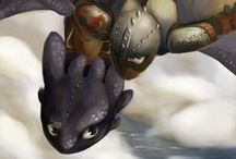 Httyd / Toothless is like a black cat