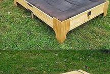 dřevo - domečky, nábytek, zahrada