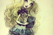 Monster High&Ever After High / Kitty Cheshire and Catrine Demew are my fav.!