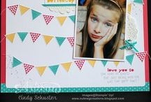 scrapbook pages / by Lucinda Fish