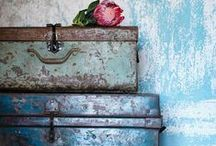 Faded Glories / The test of time.....a lifetime lived - all things old - weathered - worn - chipped - shabby - abandoned and faded but still loved..... / by Zahidee Mercedes