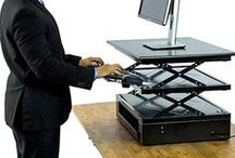 Standing Desks and Keyboard Trays / Standing Desk Solutions