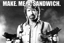 Norris... Chuck Norris. / by Jennifer Hearn