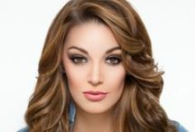 Brunettes / These brunette bombshells exude beauty. Pin your favorites.