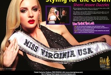 Beauty Queens / As preferred stylist for MISS VIRGINIA USA I get to work with so many gorgeous girls! I have developed a new respect for the phrase beautiful inside and out... as these lovely ladies truly are!