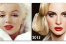 Hair Then and Now / Vintage styles made new. www.sherrijessee.com