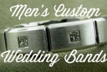 Men's Custom Wedding Bands / Custom Men's Wedding Bands Made By Images Jewelers
