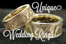 Unique Wedding Rings / Custom One of a Kind  Unique Wedding and Engagement Rings Made by Us at Images Jewelers.