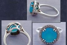 Beautiful Blue Jewelry  / Gorgeous Blue Jewelry Made By Images Jewelers