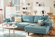 Pretty places - living rooms