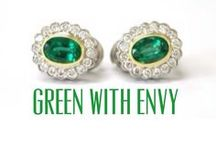 Green With Envy! / Any woman would be envious of these gorgeous green pieces of jewelry!