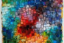 Mosaics: fine art / Wall art, jewelry, whatever doesn't fit elsewhere