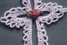 cross stitch..Crochet