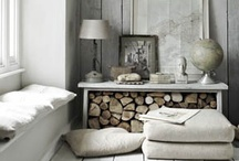 home Sweet home / I love the minimalistic Swedish décor! Lots of white...