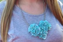 DIY Fashion / You don't always have to spend a ton of money to look great. Try making your own accessories.  / by Southern Couture