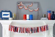 4th of July / Decorate and cook for your next patriotic party with these fun red, white, and blue ideas.  / by Southern Couture