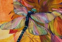 Humming Birds and Dragonflies / by Janie Schaafsma