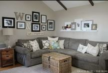 g a t h e r • h e r e / Time to update the living room....