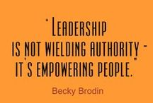 Leadership / by Michelle Sneed