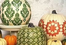 Thanksgiving, Fall, Halloween / Thanksgiving, Fall, Halloween. Decor and Food Ideas
