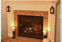For the Home-Fireplaces and Mantels / by Katy Kelch