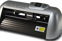 Silver Bullet Professional Die Cutting Machine / From the creators of the popular Black Cat™ series,  Silver Bullet Professional Electronic Die Cutting Machine