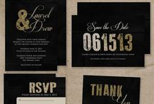 Wedding invites and programs / by Katy Kelch