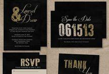Wedding invites and programs / by Katy Kelch