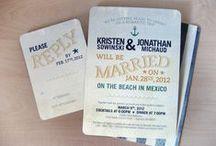Beach invitations