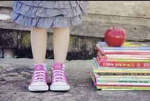Photog: Back to School / Ideas for back to school and stylized back to school sessions / by Nicole Moeller