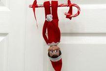 t h e • e l f / Elf on the shelf ideas....