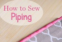 s e w • i t / One of these days I will learn to sew.... Until then. Pin.
