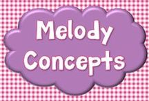 Melody Concepts / Pins for Melody