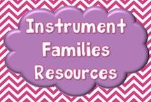 Instrument Families Resources