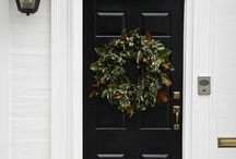 Front doors / Front door of the home