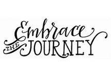 Embrace: OLW 2015 / Inspiration for my 2015 Word: embrace / by Nicole Moeller