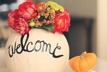 Thanksgiving and Fall Ideas / Fall and Thanksgiving decor, table settings, and gorgeous ways to decorate pumpkins for Fall.  / by Southern Couture
