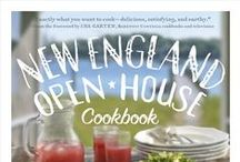 New England Open-House / From bowls of chowder to shingled houses with white picket fences, we can't help but dream of the New England lifestyle!