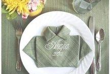 Folding Tutorials / Origami, napkins, etc.