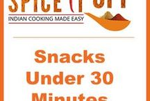 Snacks under 30 Mins / Make these quick simple snacks for unexpected guests or for a brunch!