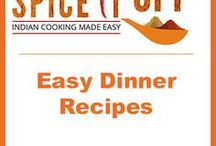 Easy Dinner Recipes / Collection of easy weekday dinner ideas. Most recipes can be made under 30 minutes and dishes with  5 ingredients. Easy dinner party recipes and #familymeal ideas.