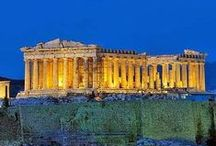 Ancient Greece / Dark Ages 1100-750 BCE, Archaic Period 750-500 BCE, Classical Period 500-336 BCE, & Hellenistic Period 336-146 BCE. / by Denise McGuire